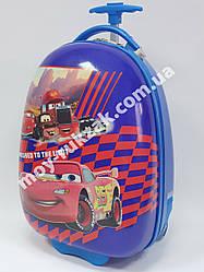 Детский чемодан дорожный на колесах «Тачки» Cars-9