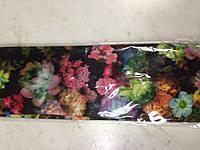 Стрейчевые яркие повязки с цветочным притом