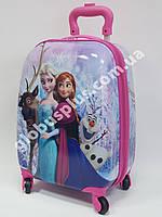 """Детский чемодан дорожный """"Холодное Сердце"""", Frozen на четырех колесах 520291, фото 1"""