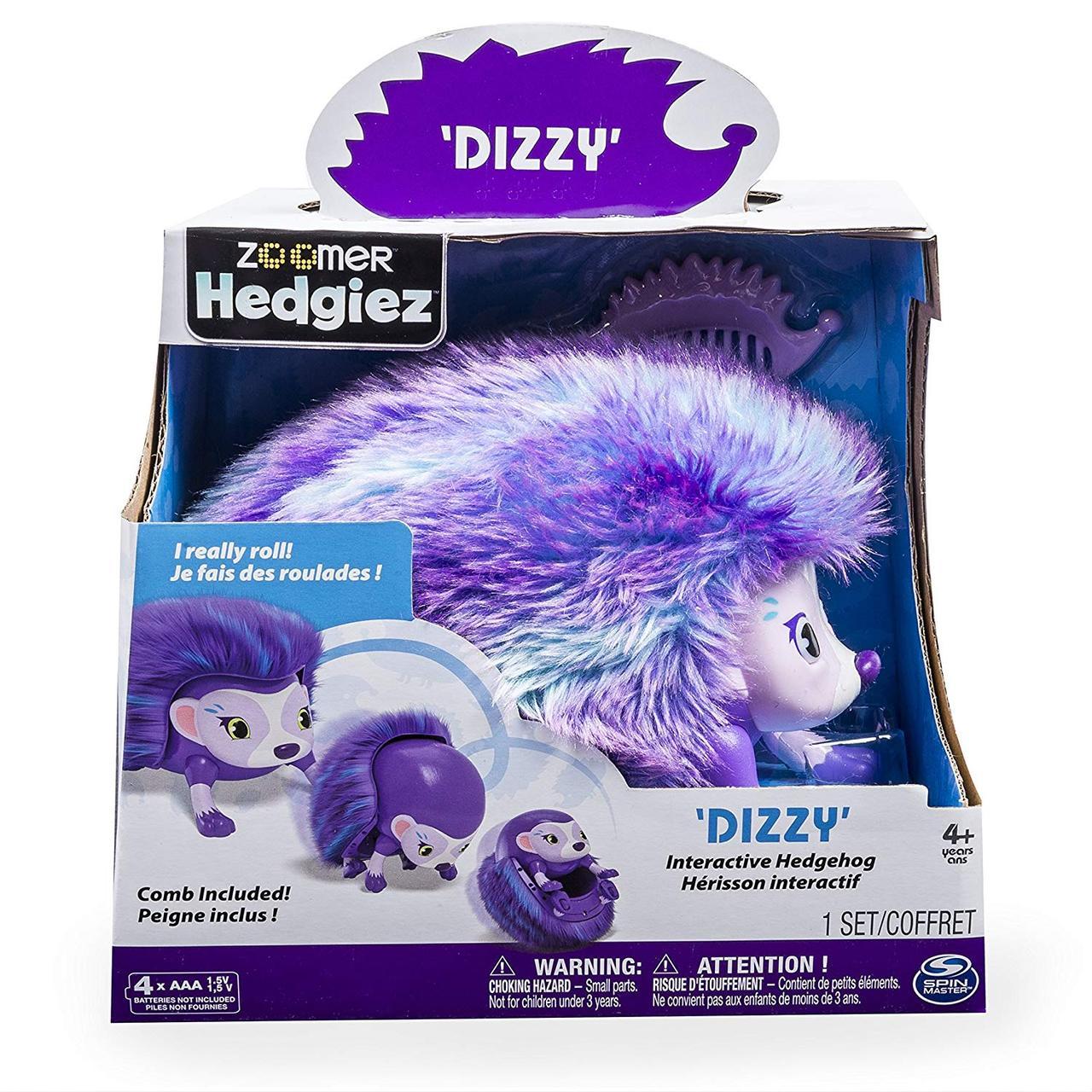 Інтерактивний Їжачок Zoomer Dizzy