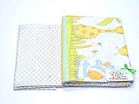 Детский постельный комплект бязь (жирафик)