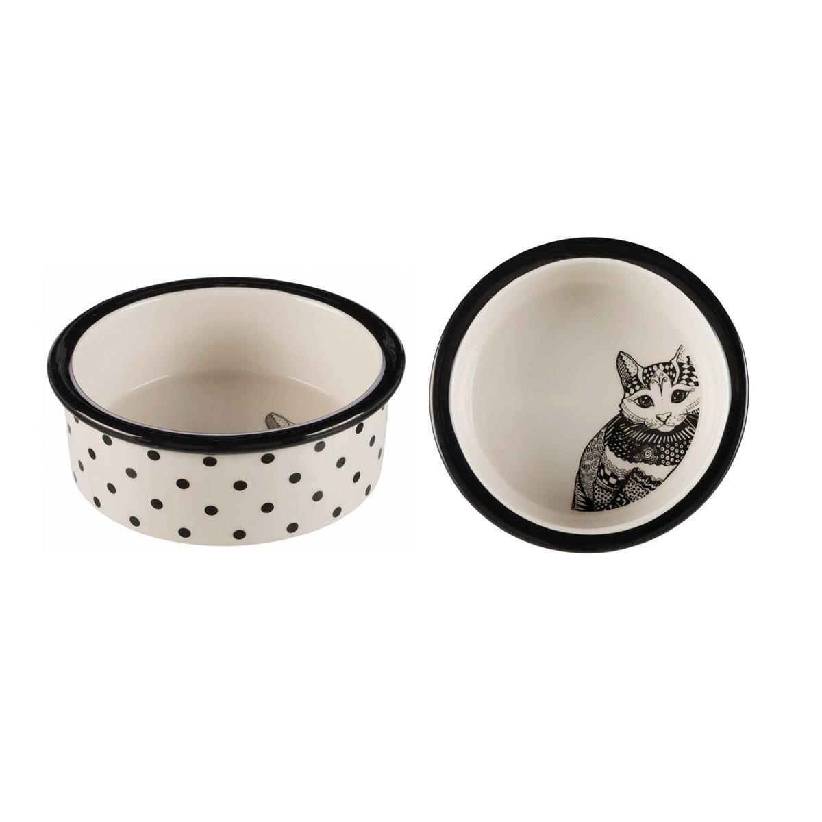 Trixie TX-25120 миска керамічна 0,3 л для кішок