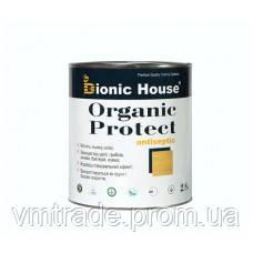 Грунтовочный антисептик с льняным маслом для дерева (Bionic House Organic Protect) 10 л