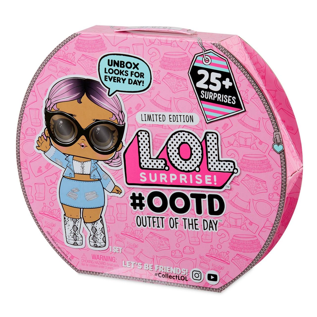 Адвент-календарь L.O.L. | Эксклюзивная кукла ЛОЛ с модной ...