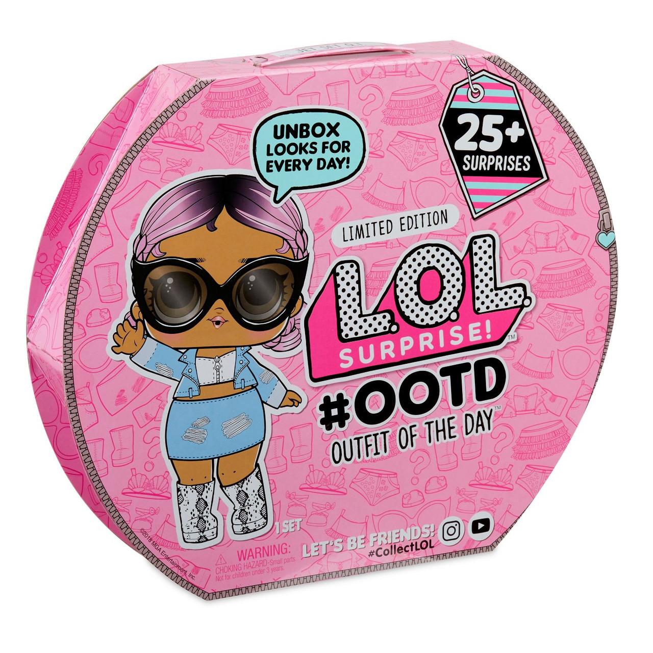 Адвент-календарь L.O.L.   Эксклюзивная кукла ЛОЛ с модной ...