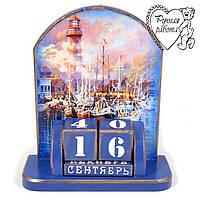 Вічний календар морський Маяк 17 * 15 см