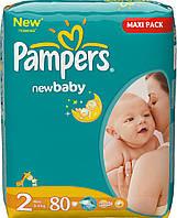 Подгузники Pampers Active Baby-Dry 2 3-6 kg 80 шт., фото 1