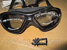 Очки (полумаска) для плавания SAILTO QY9110, фото 3