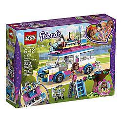 Конструктор Лего оригинал Передвижная научная лаборатория Оливии LEGO Friends 41333