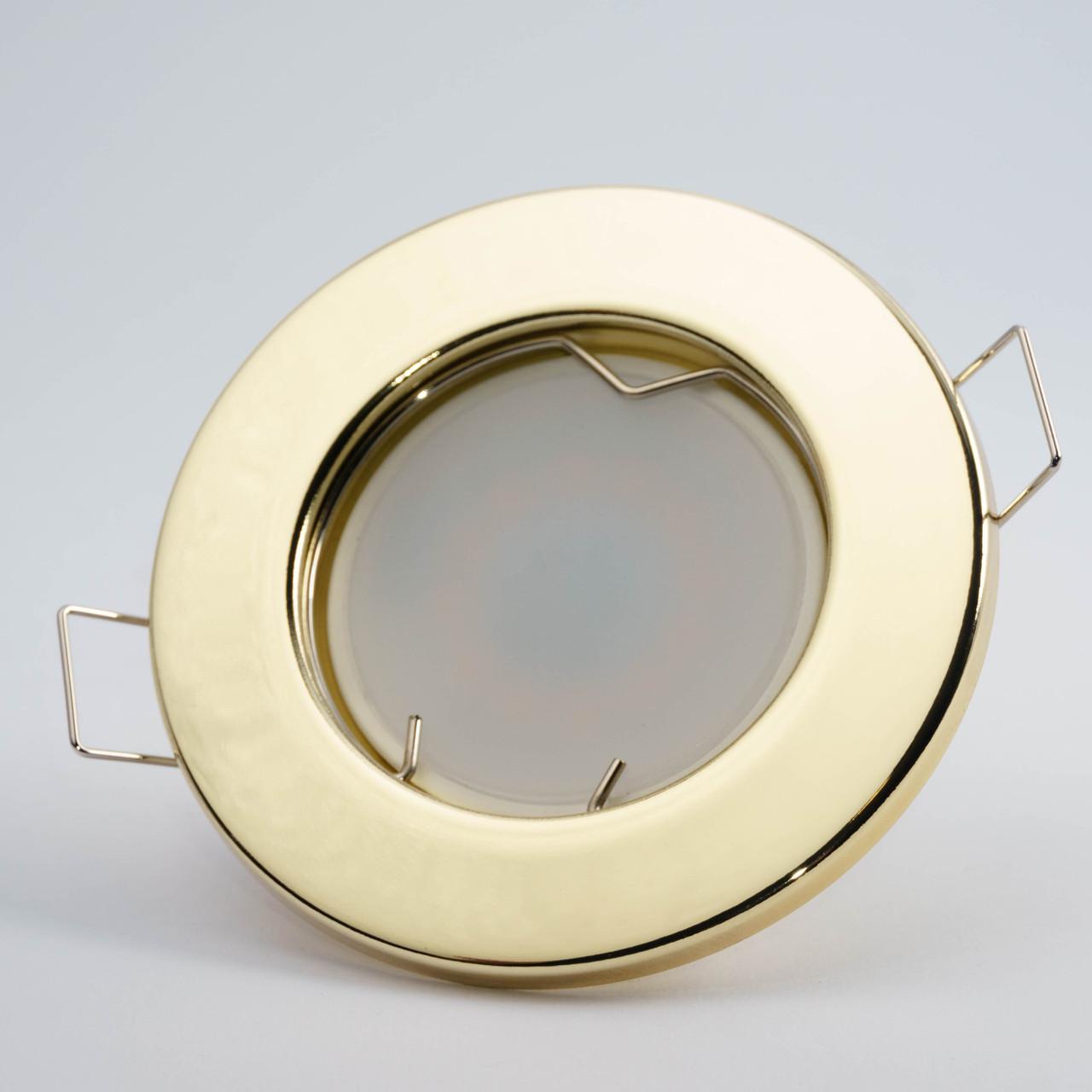 Встраиваемый светильник Feron DL10 золото