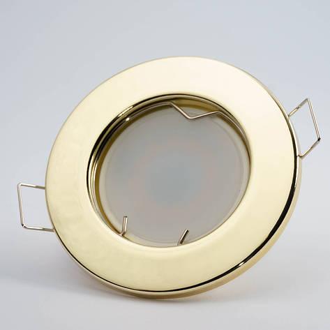 Встраиваемый светильник Feron DL10 золото, фото 2
