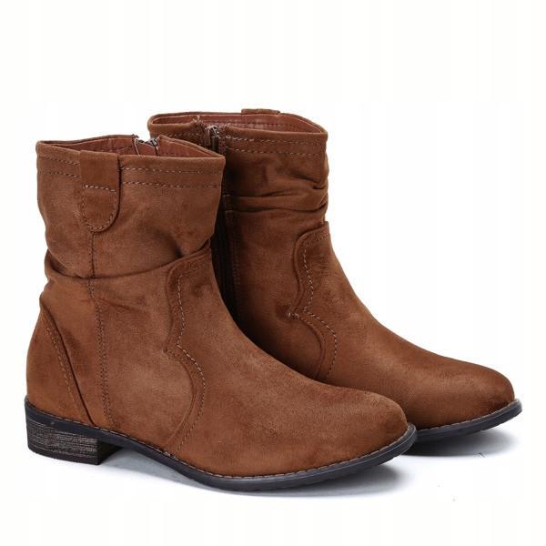 Коричневые повседневные ботинки от производителя