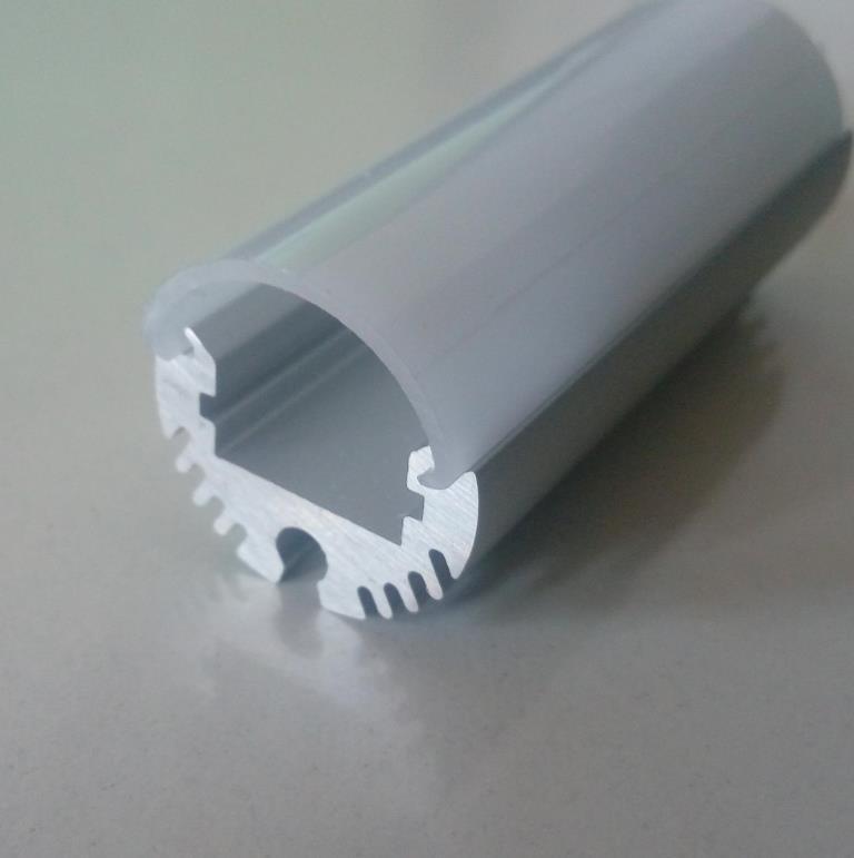 Круглий алюмінієвий профіль разом з розсіювачем 2м для LED стрічки АЛ-08-02, фото 1