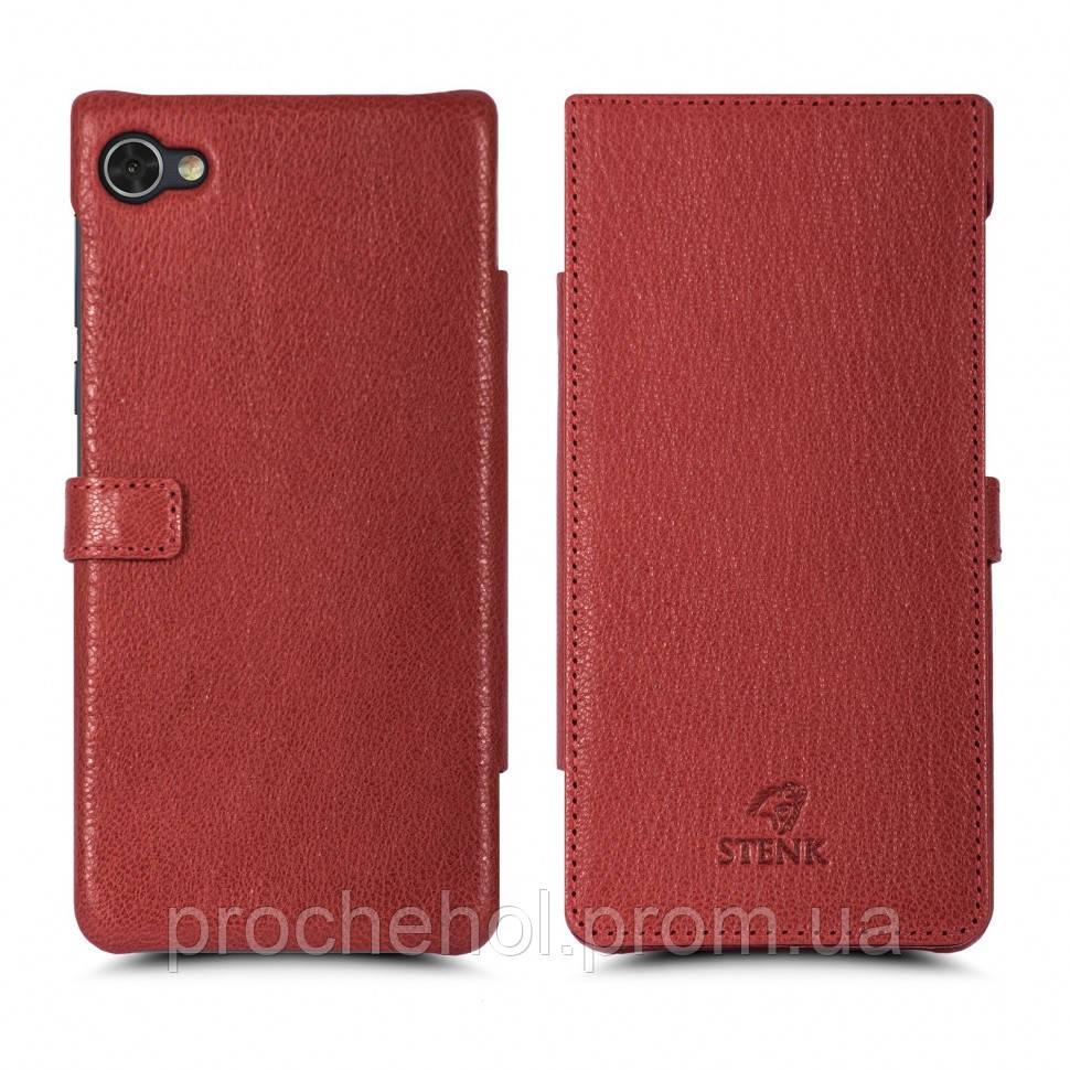 Чехол книжка Stenk Premium для BlackBerry Motion Красный (61957)