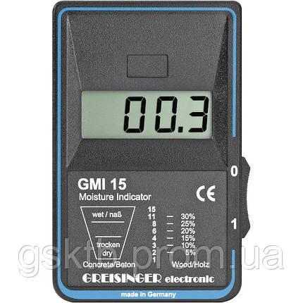 Влагомер бесконтактный   для древесины и стройматериалов  Greisinger GMI 15 (Германия), фото 2