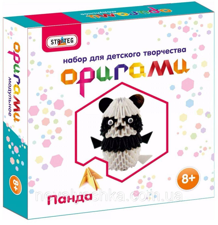 Творчество Модульное оригами Панда орігамі Стратег Strateg, 203-8  009724