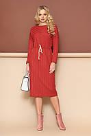 Трикотажное женское платье .