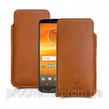 Футляр Stenk Elegance для Motorola Moto E5 Plus Camel