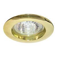Встраиваемый светильник Feron DL307 золото