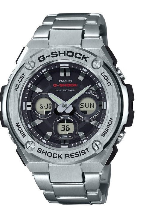 Часы Casio G-Shock G-Steel GST-S310D-1A TOUGH SOLAR