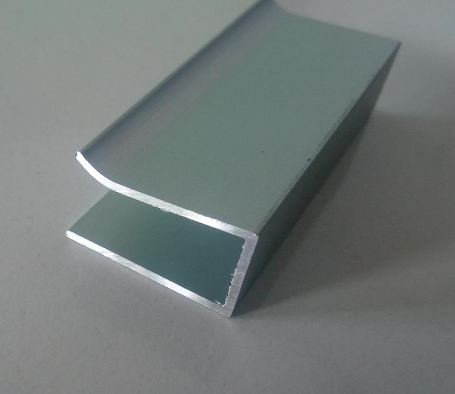Алюмінієвий профіль 2 м для LED стрічки АЛ-13 для підсвітки скла, фото 1