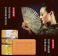 Сандаловое мыло от Bee & Flower Brand, Sandal Wood Soap 25г, фото 1