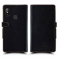 Чехол книжка Stenk Wallet для Xiaomi Redmi 6 Pro Чёрный (61723)