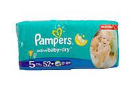 Подгузники Pampers Active Baby-Dry 5 junior 11-18kg 52 шт., фото 1