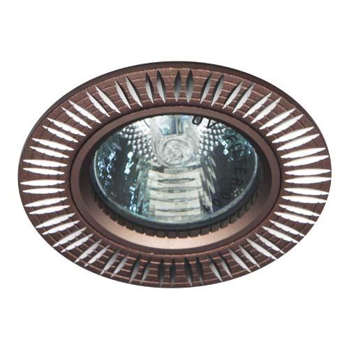 Встраиваемый светильник Feron GS-M369 коричневый