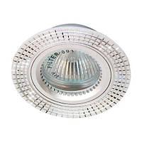 Встраиваемый светильник Feron GS-M369 серебро