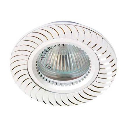 Встраиваемый светильник Feron GS-M392 серебро, фото 2