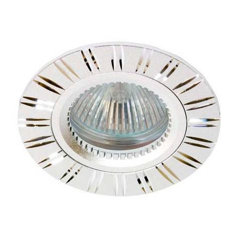 Встраиваемый светильник Feron GS-M393 серебро, фото 2