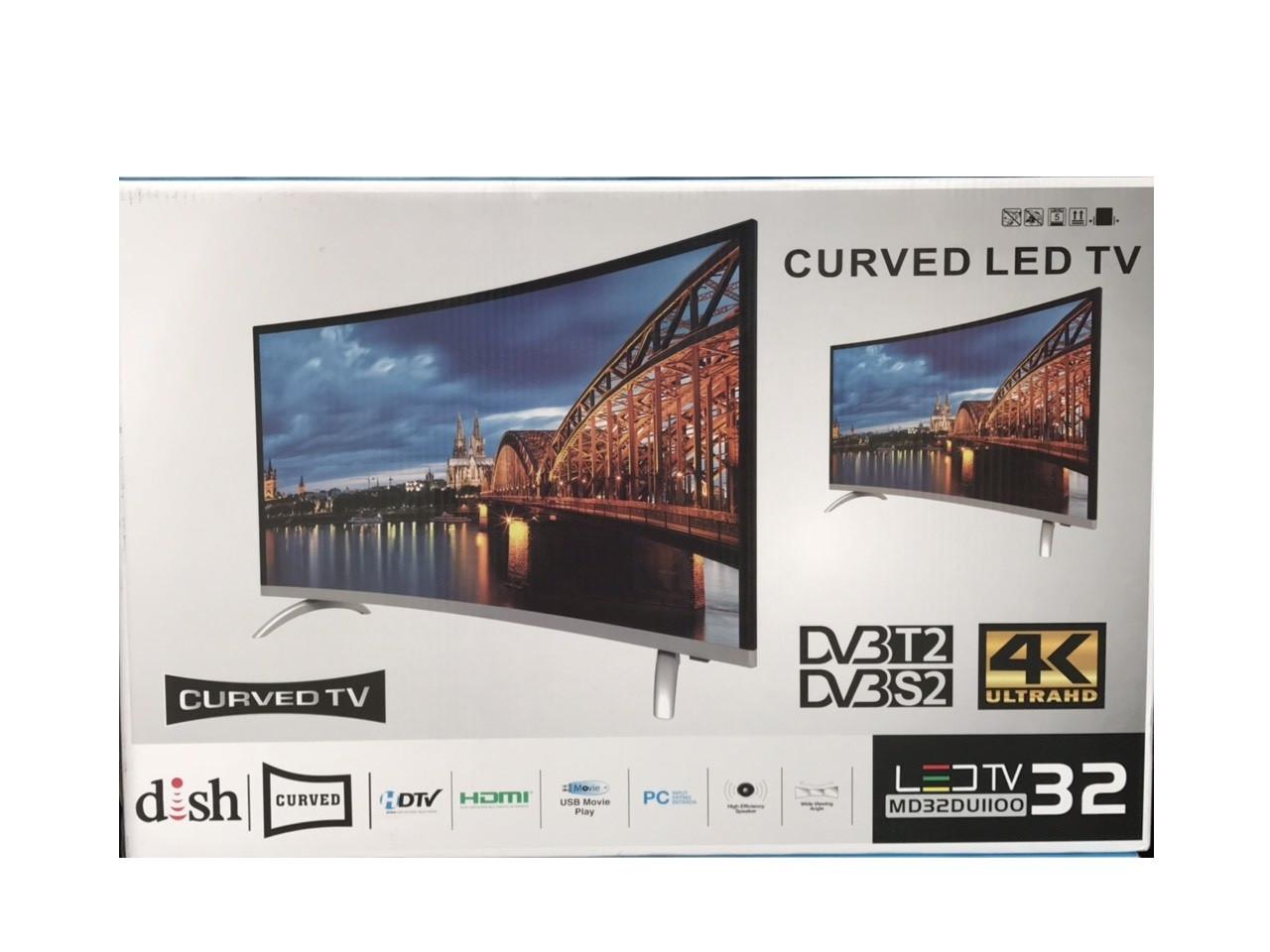 """Телевізор з вигнутим екраном TV 32"""" T2 S2"""