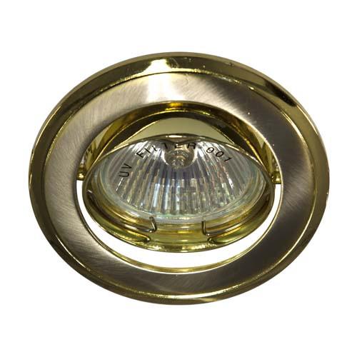 Встраиваемый светильник Feron 301Т MR-16 титан золото