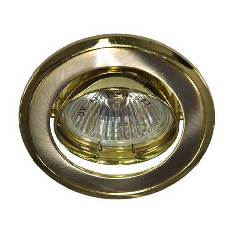 Встраиваемый светильник Feron 301Т MR-16 титан золото, фото 2
