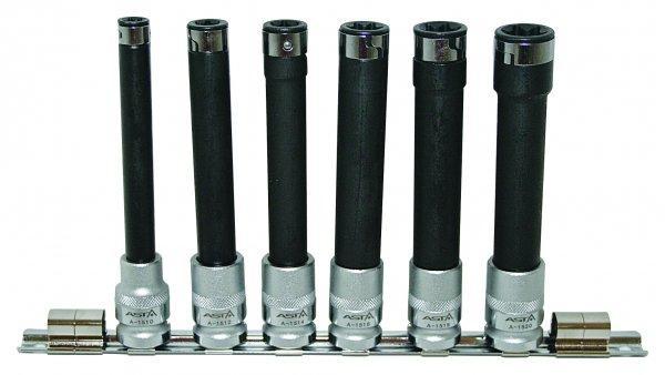 Набор торцевых гаечных ключей E-TORX 1/2 L = 140 ММ ASTA 15SET6