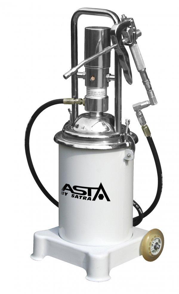 Пневмо смазочный насос с резервуаром высокого давления 800 г/мин ASTA POP13