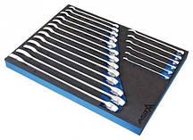 Набор ключей комбинированных 19 ед. в металлическом кейсе SATRA 400-06245