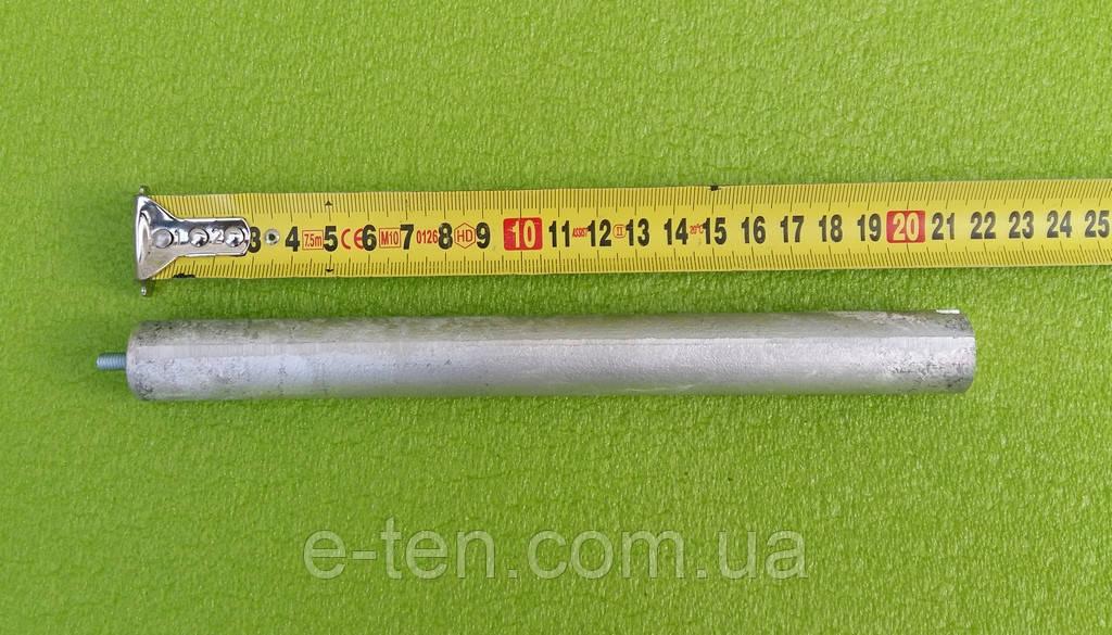Анод магниевый Италия  Ø21мм / L=210мм / резьба M5*10мм   оригинал