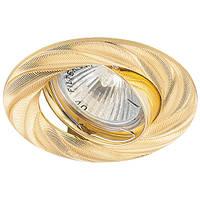 Встраиваемый светильник Feron DL6027 золото