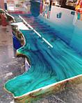 Новые красители Марбо Marbo -морская волна и индиго для смол и полиуретанов
