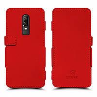 Чехол книжка Stenk Prime для OnePlus 6 Красный (61461)