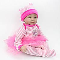 Кукла реборн 55 см девочка Есения