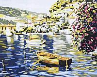 Раскраска по цифрам 40×50 см. У берегов Греции, фото 1