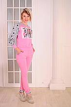 """Женский спортивный костюм розовый  """"Fashionable dogs"""" размеры 40-46"""