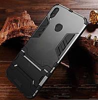 Чехол бампер с подставкой для Huawei P Smart Plus \ P Smart+