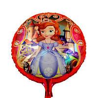 Фольгированный шар Принцесса София, 45*45 см