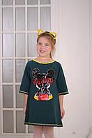 9660a627d9a Платье для девочки зеленое