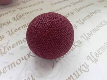 Бавовняний куля, марсала