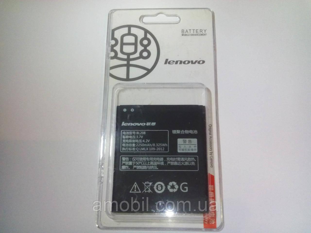 Акумулятор Lenovo BL208 S920 (2250mAh)orig
